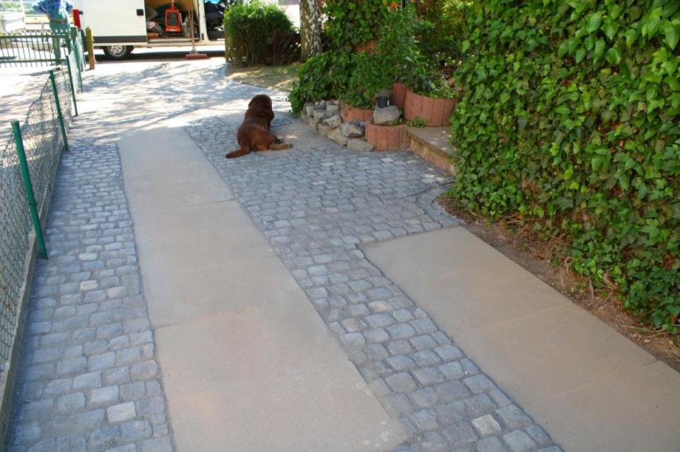 Präferenz Sanierung Einfahrt und Stellplatz - thomas-garten.de CL83